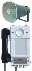 Взрывозащищенные телефонный аппарат с громкоговорящей связью и световой индикацией вызова ТАШ-22ЕхС-С